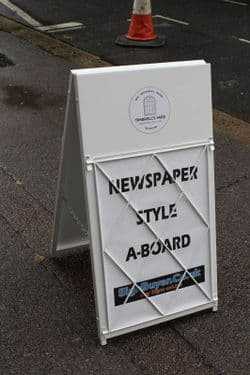 Newspaper Style A Board